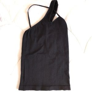 Ribbed multiple ways to wear tank